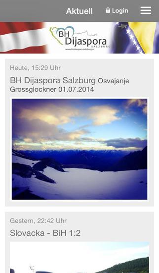 BH Dijaspora Salzburg screenshot 1