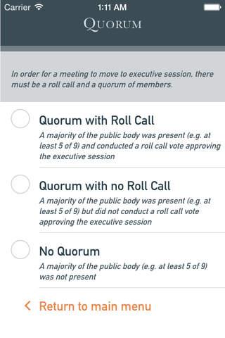 Executive Session powered by Graydon Head - náhled