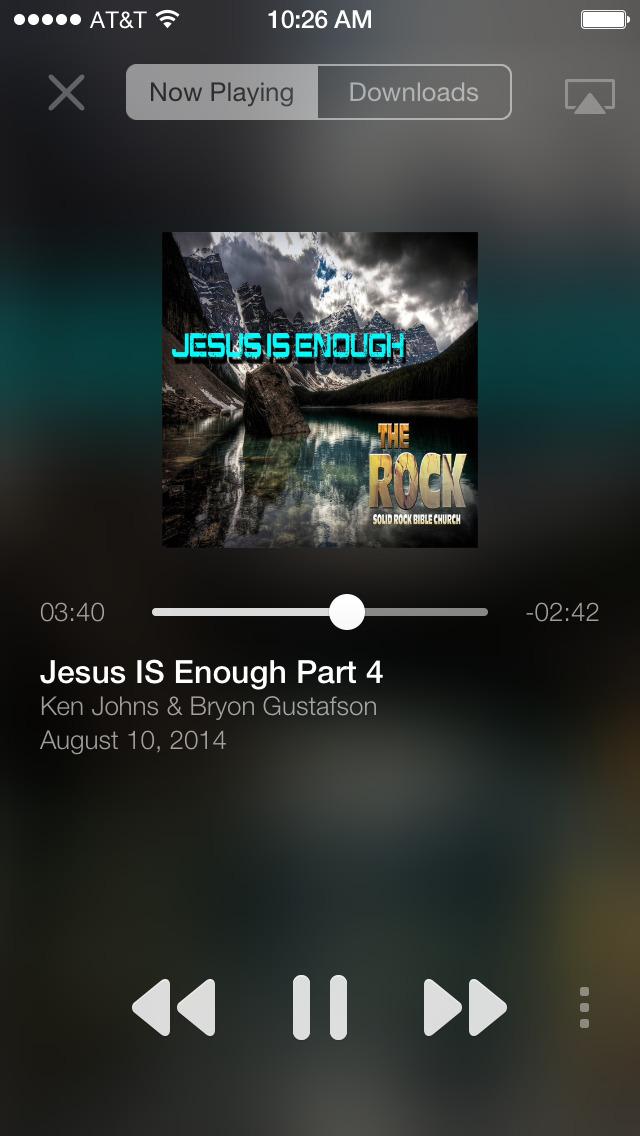 Solid Rock Bible Church screenshot 2