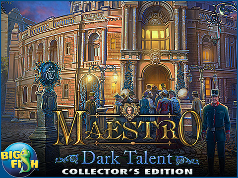 Maestro: Dark Talent HD - A Musical Hidden Object Game screenshot 5