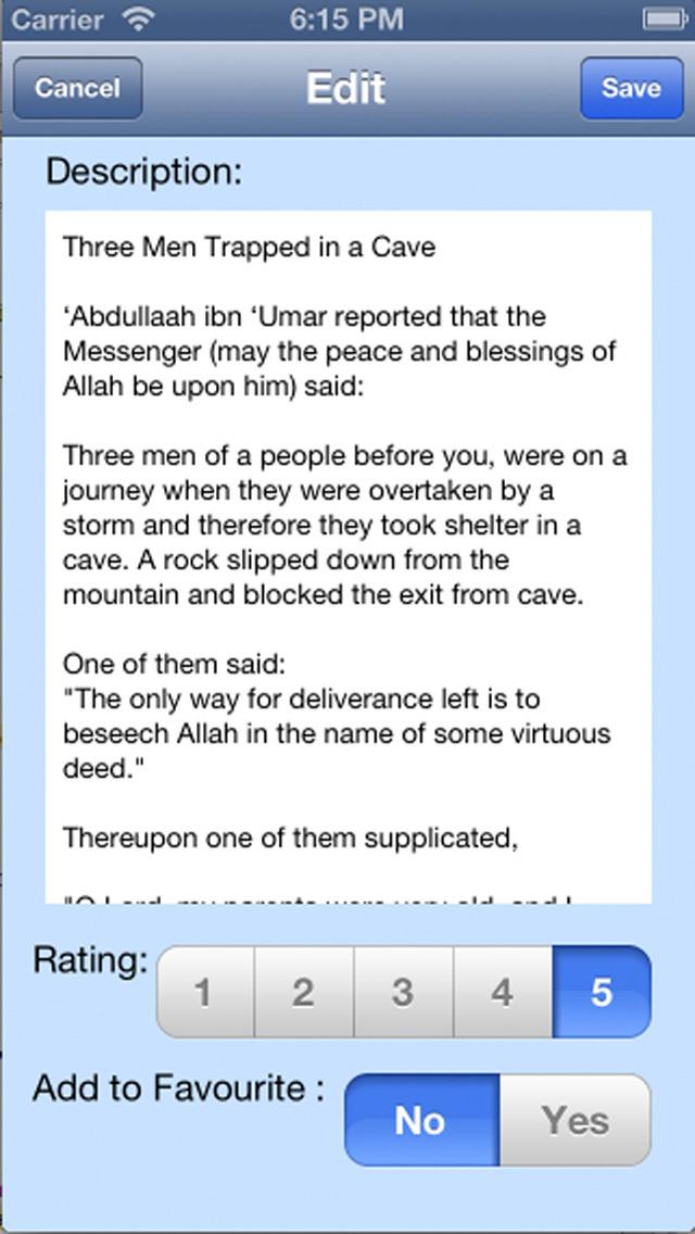 iPrayer Book - Islamic Stories Collection screenshot 5