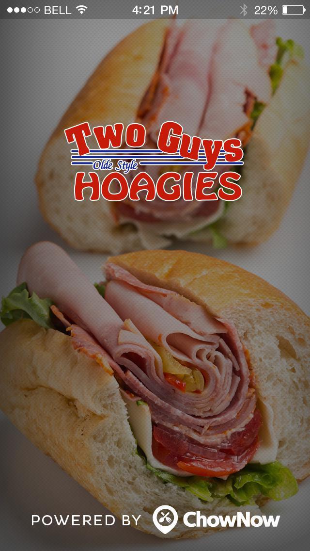 Two Guys Hoagies screenshot 1