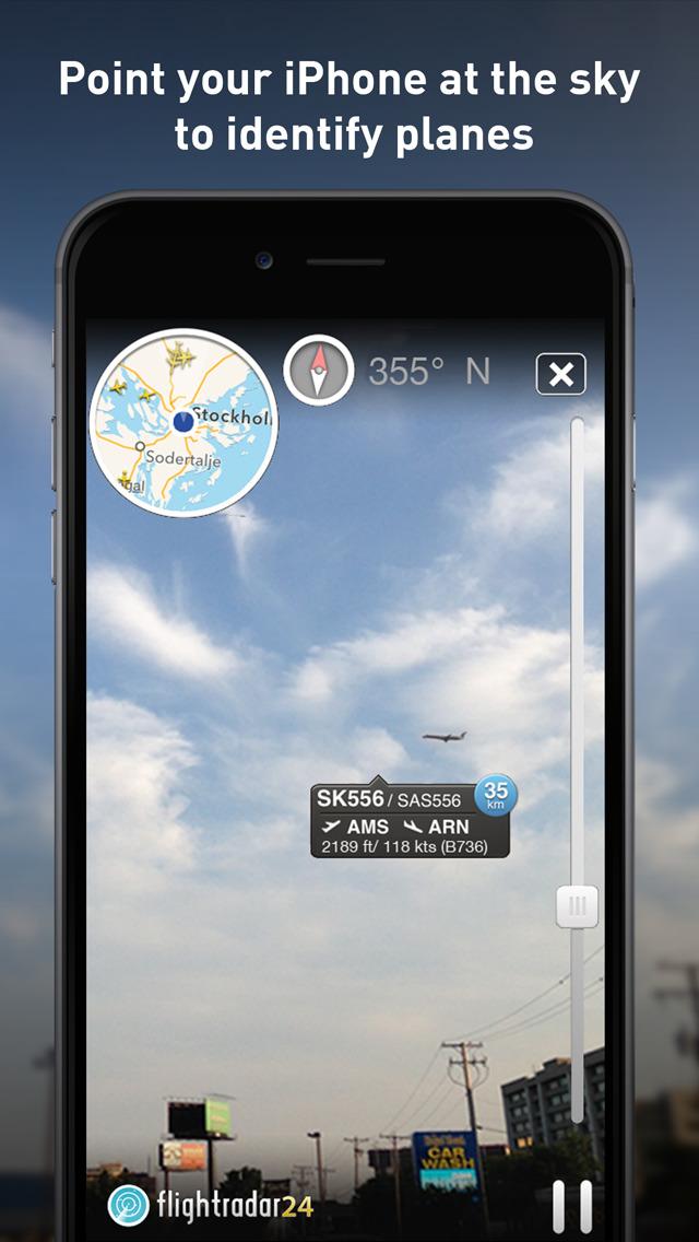 Flightradar24 - Flight Tracker screenshot #3