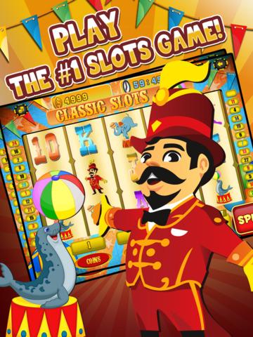 Ace Circus Vegas Slots - Lucky Big Win Classic Jackpot Slot Machine Casino Games HD screenshot 6