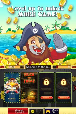 Atlantic Zombie Slots HD - Treasure Jackpot Casino - náhled