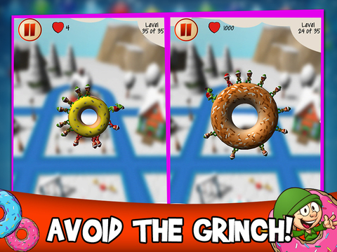 Christmas Elf Donut Defense screenshot 5