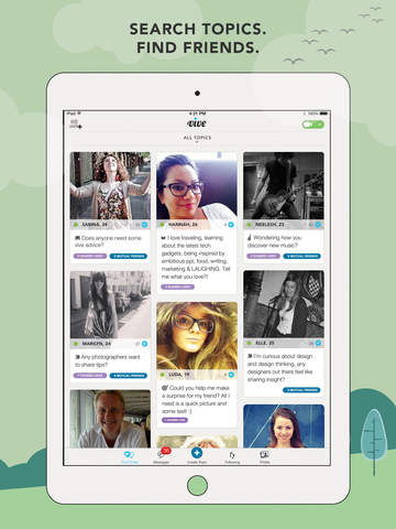 vive - laugh, learn & make new friends screenshot #2