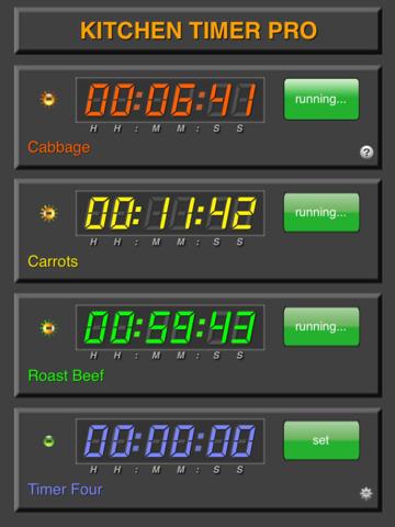 Kitchen Timer Pro screenshot 7