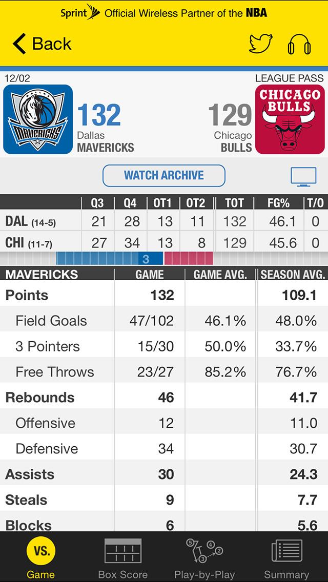 NBA: Official App screenshot 4