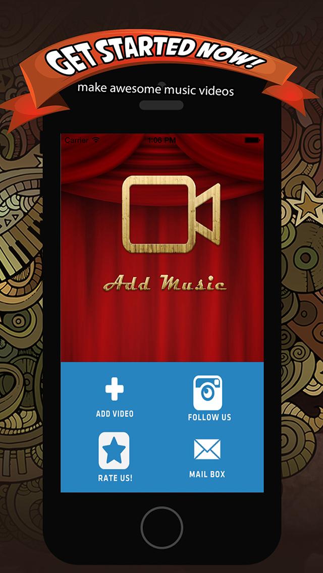 Add Music & Video Editor - Enter Video-Shop screenshot 5