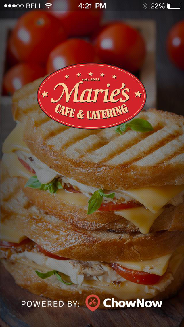 Marie's Cafe & Catering screenshot 1
