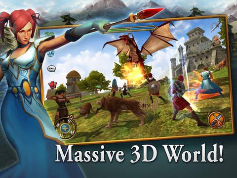 Celtic Heroes 3D MMO screenshot 7