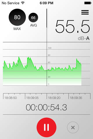 Sound Level Meter Pro - náhled