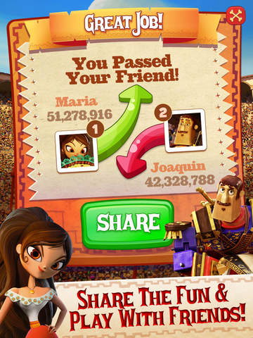 Sugar Smash: Book of Life - Free Match 3 screenshot #4