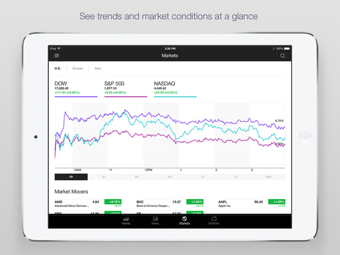 Yahoo Finance screenshot 8