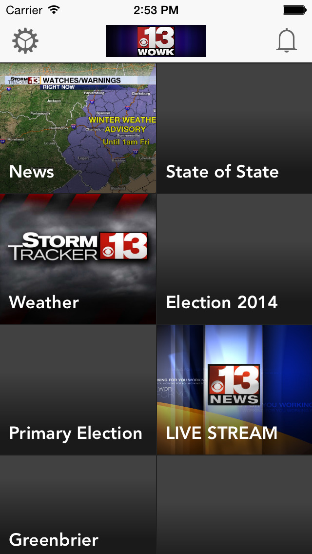 WOWK-TV 13 News screenshot 1