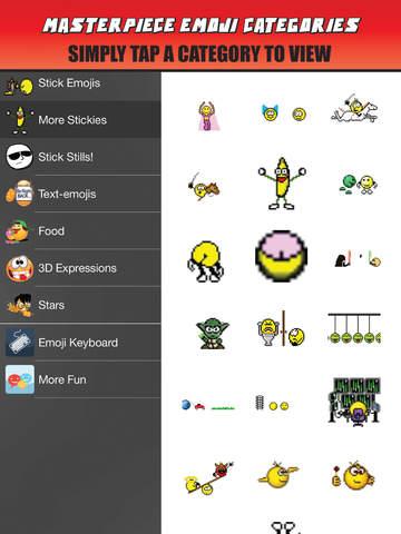 Emoji Stick - Text The Emoticons Texting (Emoticon Emojis) screenshot 8