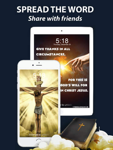 Pocket God - Memorize Bible Verses from Custom Wallpapers! screenshot 8