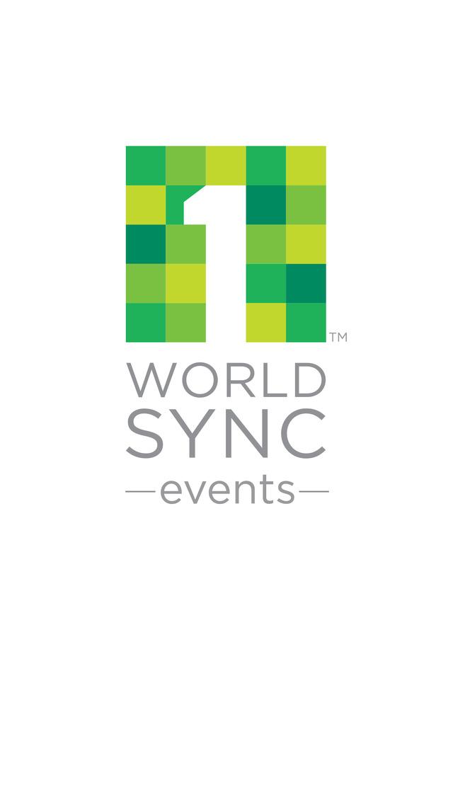1WorldSync Events screenshot 2