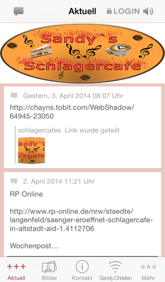 Sandy's Schlagercafe screenshot 1
