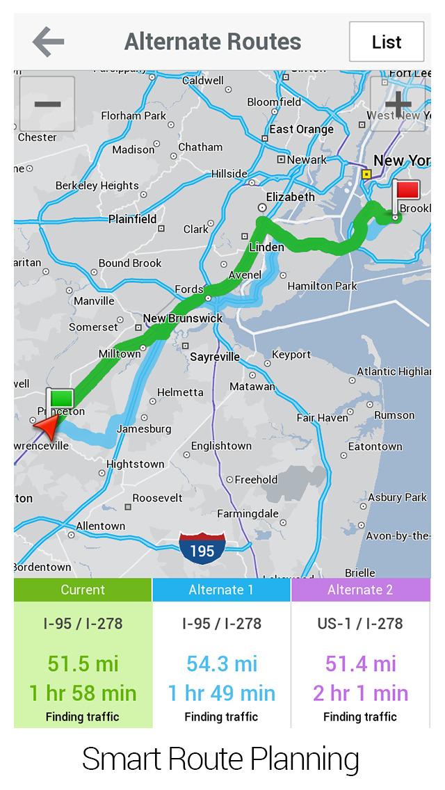 CoPilot HD USA – GPS Navigation & Offline Maps screenshot 3