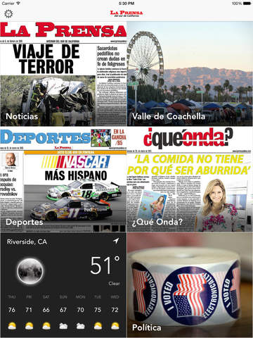 La Prensa del sur de California screenshot 4