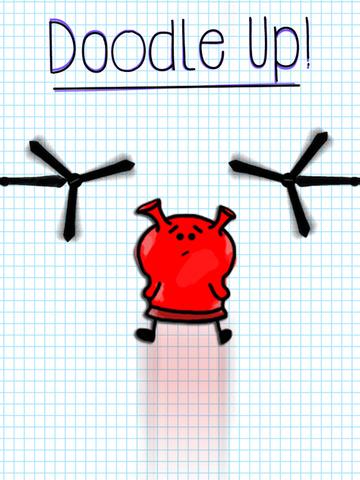 Doodle Alien - Jump Up - náhled