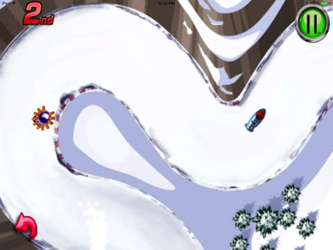 A Ride Sledge : Escape Chase Future Sprint Battle Version HD screenshot 8
