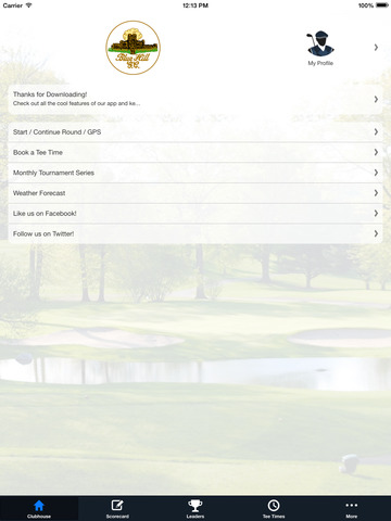 Blue Hill Golf Course screenshot 7