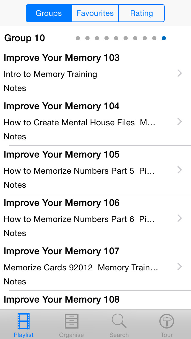 Improve Your Memory screenshot 3