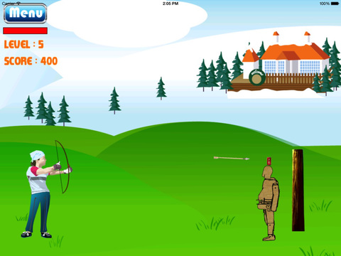 Archer Girl The Legend HD : Bow And Arrow Game screenshot 8