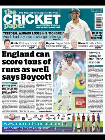 The Cricket Paper Magazine screenshot 6