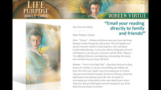 Life Purpose Oracle Cards - Doreen Virtue, Ph.D. screenshot 3