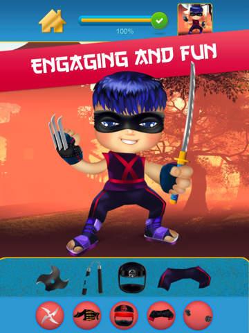 My Mega Power Ninja Hero Design & Copy Crazy Game - Pro screenshot 10