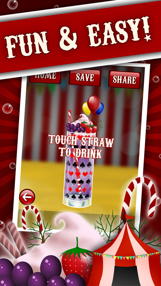 ``Circus`` Soda Maker - Make Your Own Drink Game screenshot 1