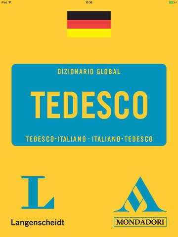 German <-> Italian Talking Dictionary Global Mondadori Langenscheidt screenshot 6