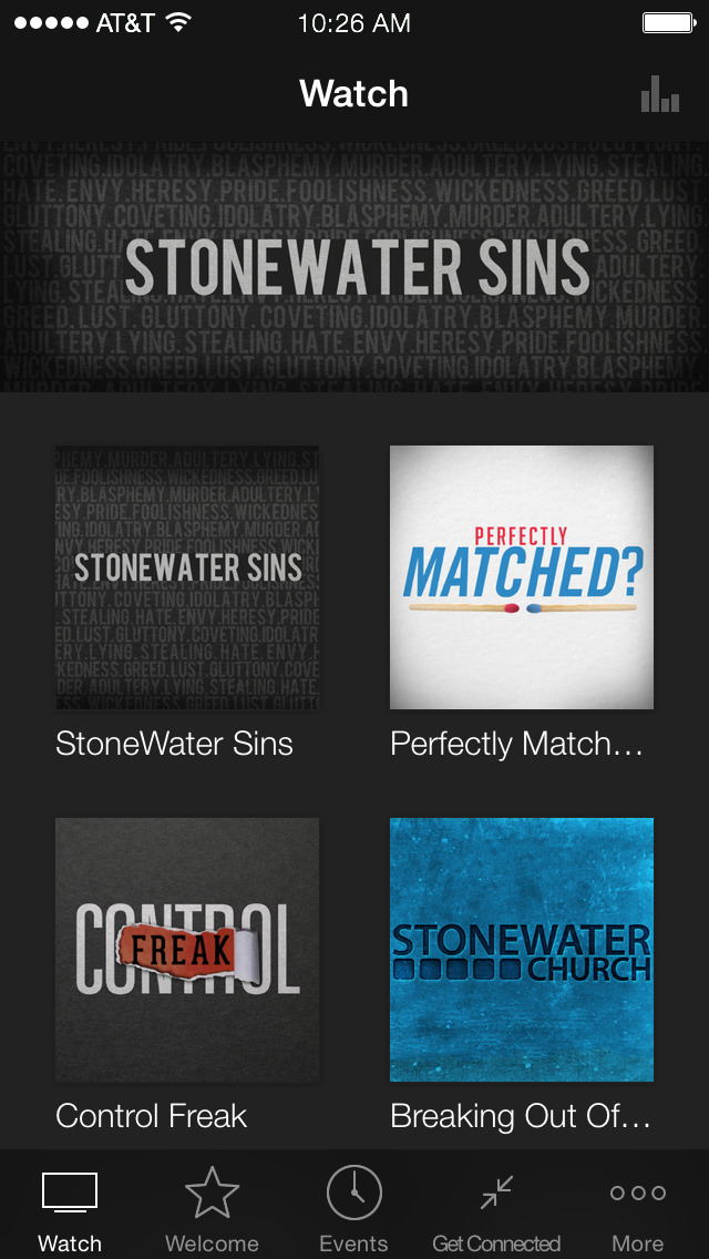 StoneWater Church screenshot 1