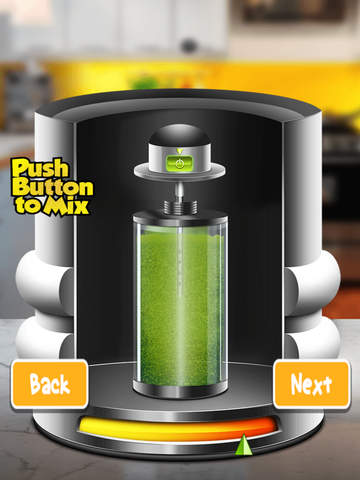 Flavored Slushie Drink Maker Pro - cool kids smoothie drinking game screenshot 9