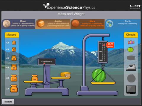 Experience Physics - náhled