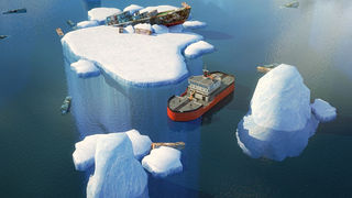 3D Icebreaker Parking PRO - Full Boat Driving Simulation Race Version screenshot 2