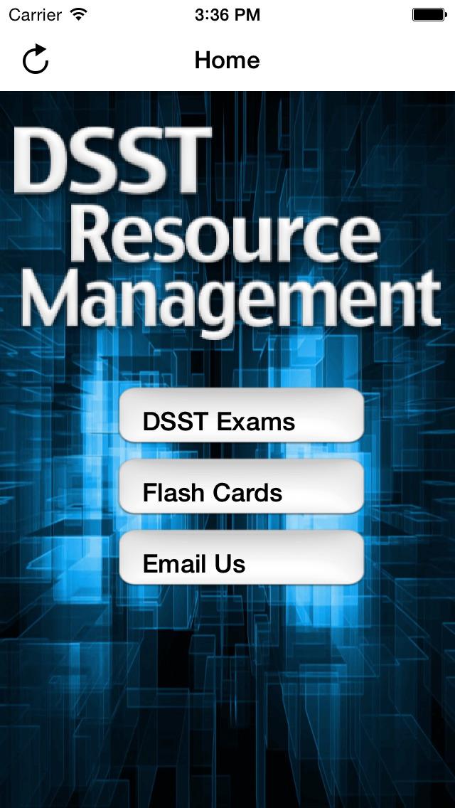 DSST Human Resource Management screenshot 1