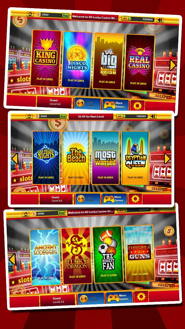`Ace Win Royal Gold Poker Casino Coin Jackpot Slots - Slot Machine with Blackjack, Solitaire, Roulette, Bonus Prize Wheel screenshot 3