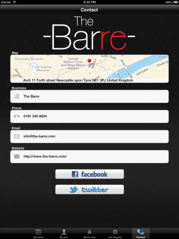 The Barre screenshot #4