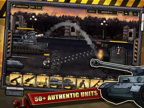 Warfare Nations: Classical screenshot 10
