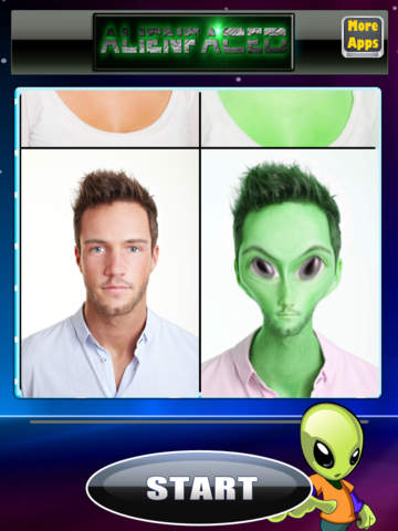 AlienFaced - The Alien Face Booth screenshot 6