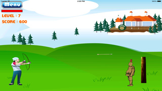 Archer Girl The Legend HD : Bow And Arrow Game screenshot 4