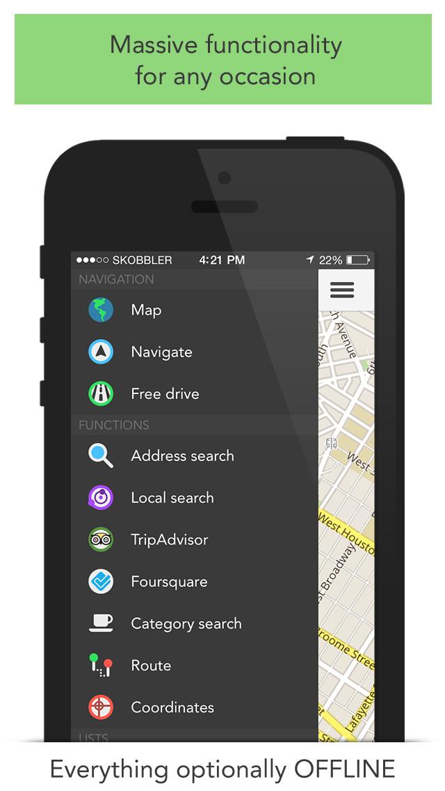 GPS Navigation (Sat Nav) screenshot 4