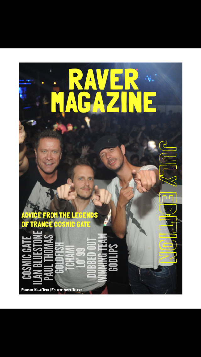 Raver Magazine screenshot 1