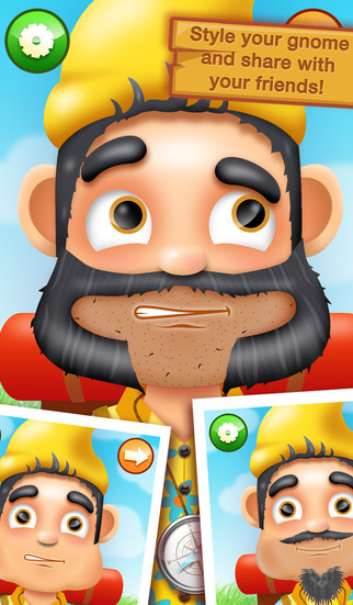 Shaving Crazy Gnomes – A Messy Hairy Shave Makeover ! screenshot 4