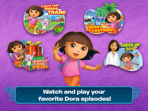 Dora Appisodes HD screenshot 6